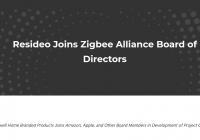 Resideo entra a la Zigbee Alliance