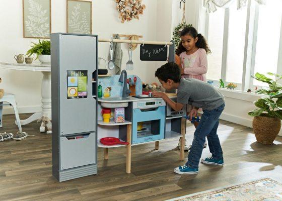 KidKraft lanza la primera cocina de juguete con Alexa