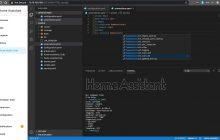 addon para usar vs code en Home Assistant