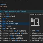 Iconos MDI en VS Code