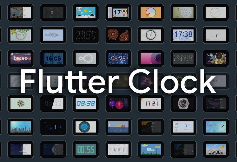 Concurso de relojes para los Smart Displays de Lenovo hechos con Flutter