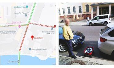 El hombre que ha creado un atasco virtual usando 99 smartphones con Google Maps