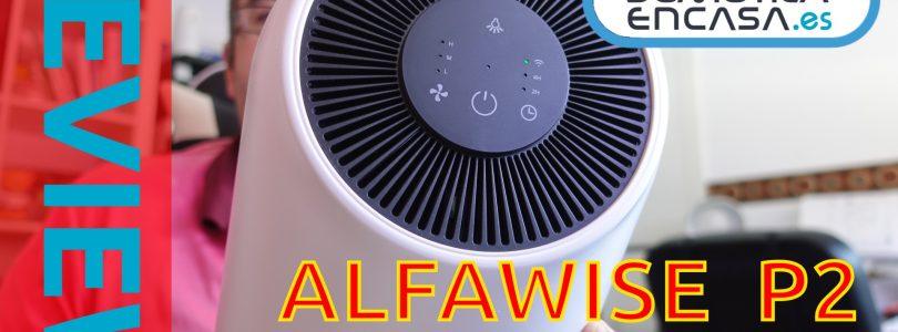Portada review del purificador de aire alfawise P2