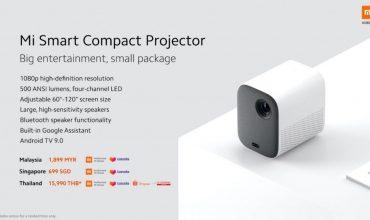proyector de Xiaomi con Google Assistant