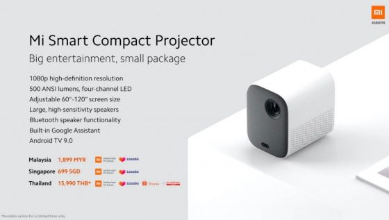 Xiaomi presenta su proyector compatible con Google Assistant