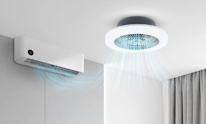 Xiaomi Huizuo Intelligent Fan Light lámpara y ventilador en uno