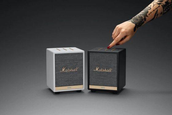 Marshall Uxbridge Voice, un pequeño altavoz con Alexa