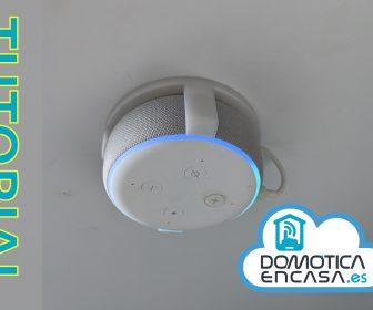 portada del tutorial para poner un echo dot en el techo