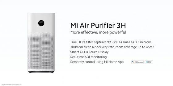 Xiaomi  Air Purifier 3H llega a Europa