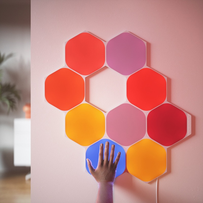 Nanoleaf hexagonales