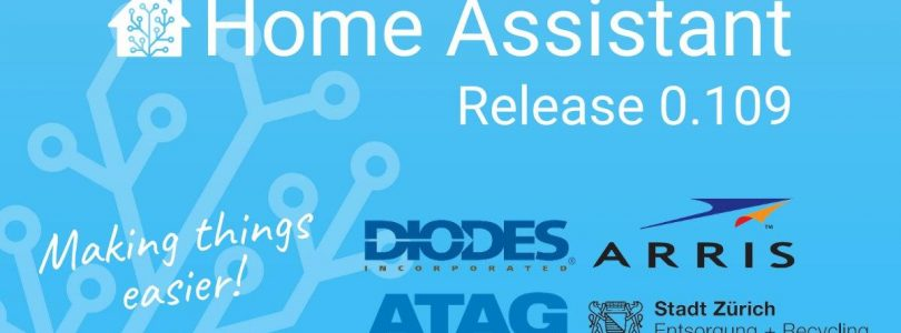 Home Assistant 0.109