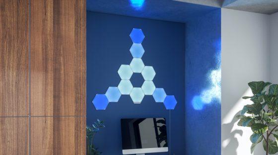 Nanoleaf prepara el lanzamiento de sus nuevas luces hexagonales