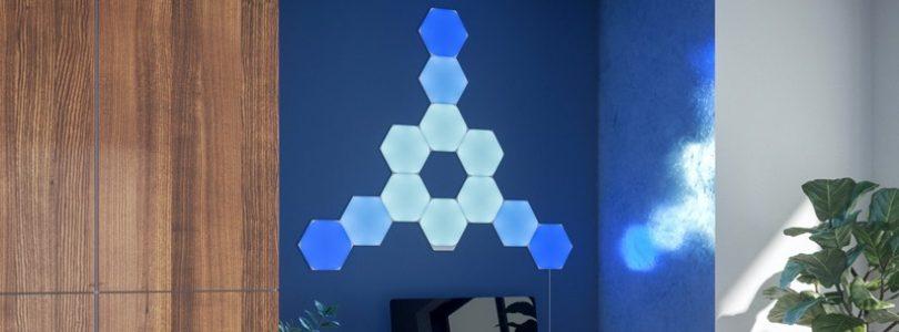 Nanoleaf hexagonales