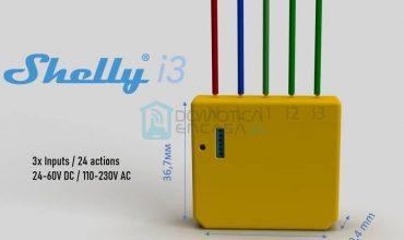 shelly i3 filtrado