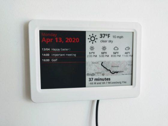 ESP32 e-Paper, una pantalla de tinta electrónica inteligente