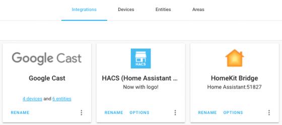 Nuevos iconos en Home assistant 0.110