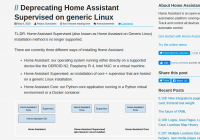 Home assistant supervised