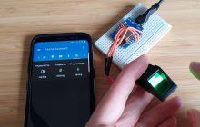 autenticación con huella en Home Assistant por medio de MQTT