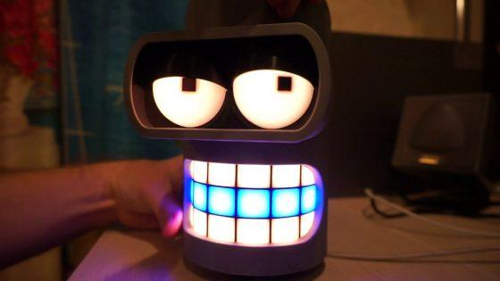 Pinder: ¿Te gusta Futurama? Este altavoz inteligente de Bender es para ti