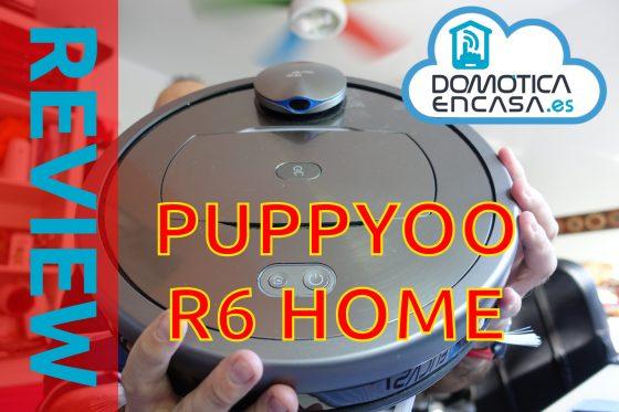 Puppyoo R6 Home: Review y opinión de este interesante Robot de limpieza