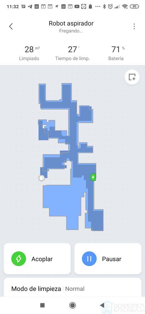 Mapa del Mi Robot 1C