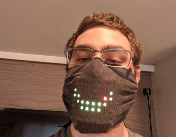 ¿Quieres una máscara LED original? Aquí tienes un modelo para hacértela tu