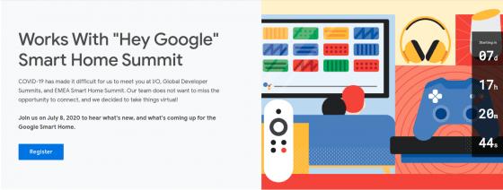 Google celebrará el evento para desarrolladores de Smart Home la semana que viene