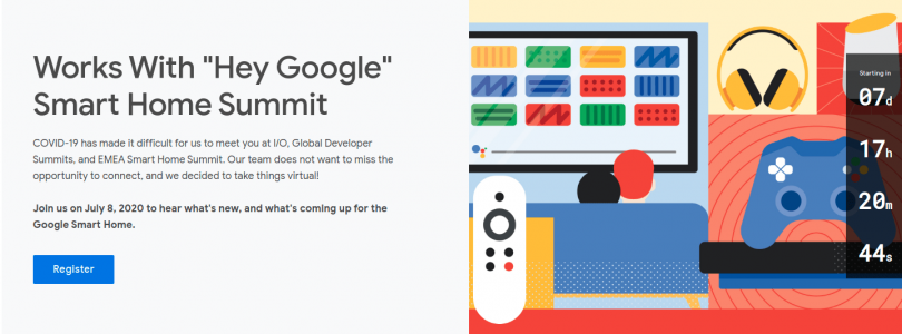 evento de google para desarrolladores de Smart Home