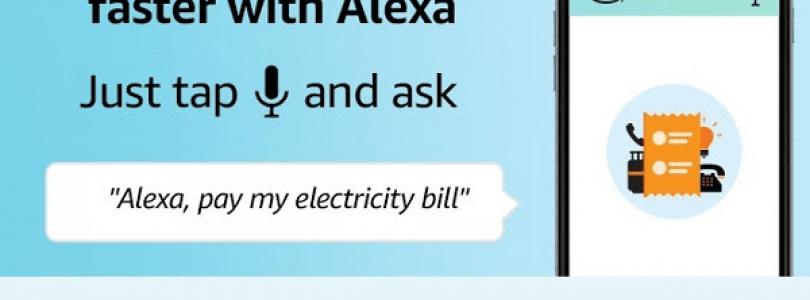 Alexa permite el pago de facturas en la India