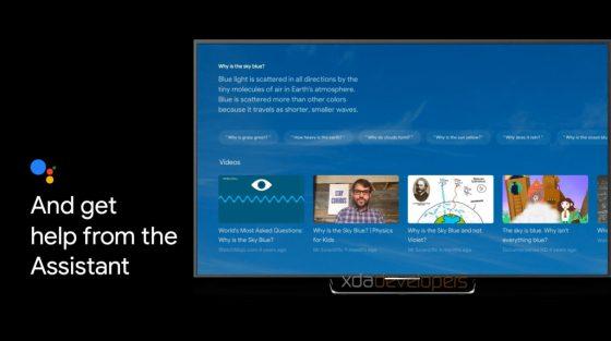 Búsqueda de Google Assistant en Nest Chromecast