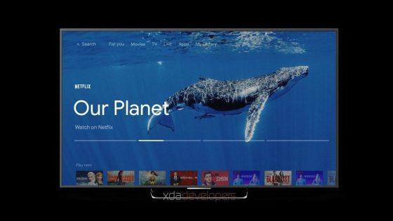 interfaz de Android TV