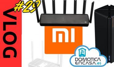 VLOG #29 - AX3600, AX1800 y Redmi AX5, los routers de Xiaomi para la domótica