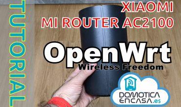 Portada del tutorial del cambio de firmware del Mi Router AC2100 a OpenWRT
