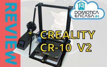 portada de la review de la creality cr-10 v2