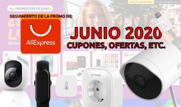 seguimiento de la promo de junio Aliexpress