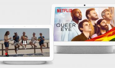 google nest hub y nest hub max permiten la reproducción de Netflix