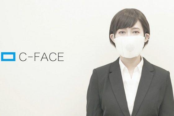 C-Face una mascarilla que traduce en tiempo real en 9 idiomas