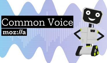 mozilla pone toda los datos de voz de su Common Voice