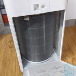 Insercción del filtro en el Xiaomi Air Purifier 3H