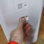 Tapa del filtro del aire