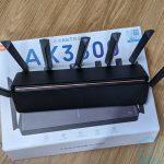 Vista superior del Mi Router AX3600