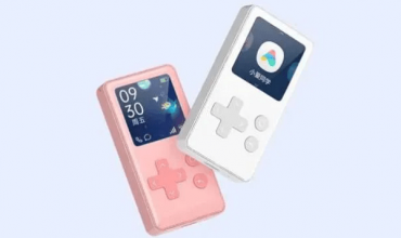 smart display de Xiaomi AI Ping Q similar a la gameboy