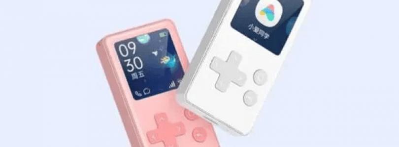 smart display de Xiaomi AI Ping Q similar a la gameboy