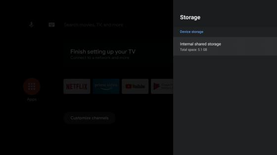 Android TV en Mi Stick