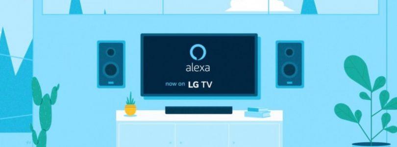 alexa se integra en los smart tv de LG de gama alta