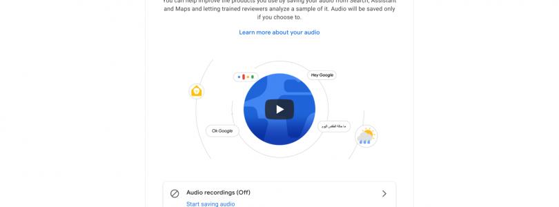google habla sobre la privacidad en las escuchas