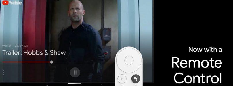 google nest chromecast con su mando