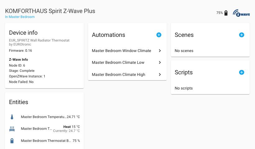 Open Z-Wave en Home Assistant