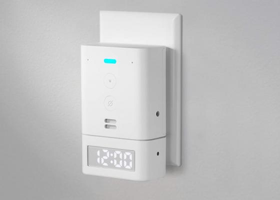 Amazon Echo Flex recibe un nuevo addon, un reloj