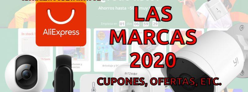 semana de las marcas 2020 en Aliexpress